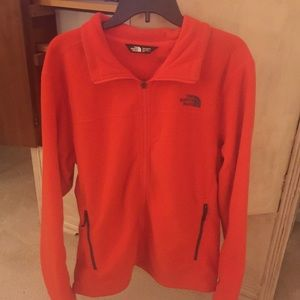 North Face Fleece Zip-Up Size Large